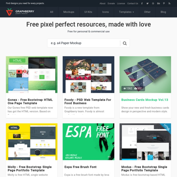 Free Design Resources Mockups Psd Web Templates Icons