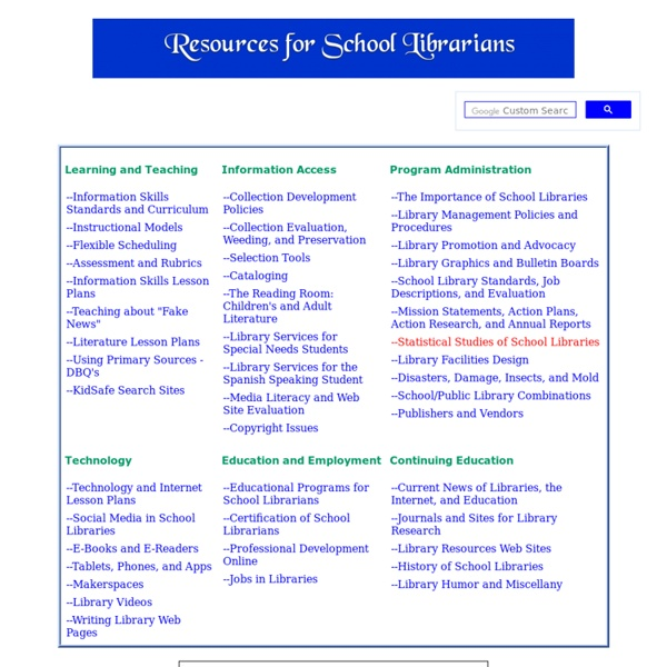 Resources for School Librarians (Lauren)