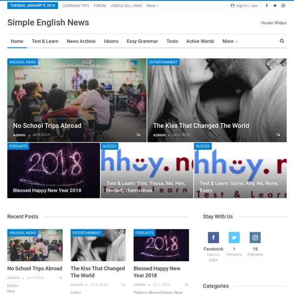 Yes, you can learn English. - Simple English News
