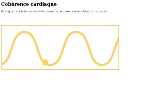 Vidéo/ Vague respirat° en cohérence cardiaq
