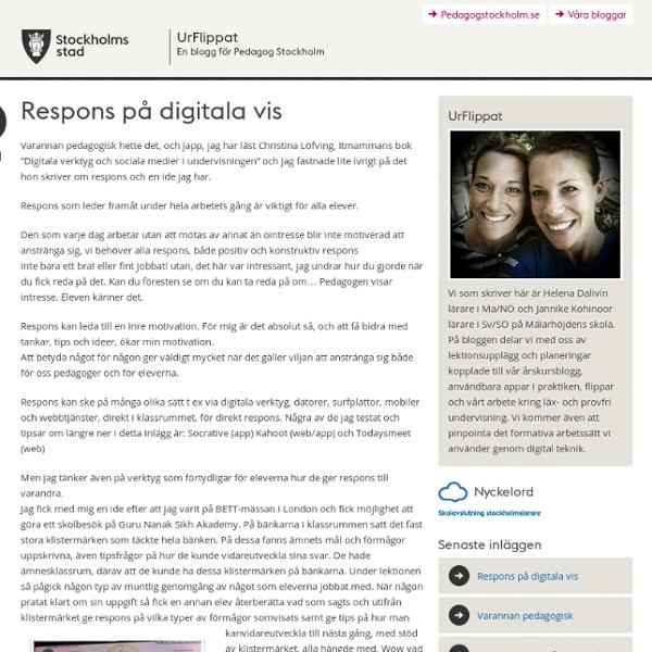 Bloggar för Pedagog Stockholm