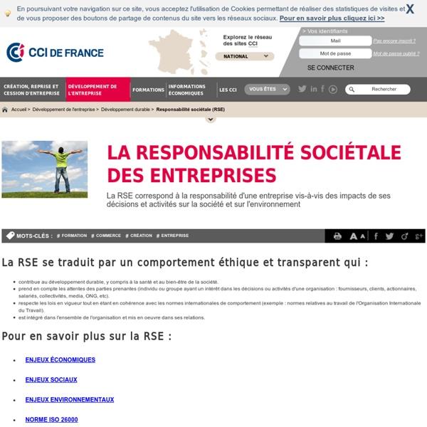 En savoir plus sur la responsabilité sociétale des entreprises (RSE)
