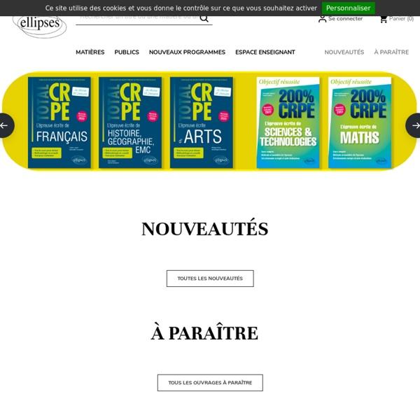 Editions Ellipses - médecine et paramédical