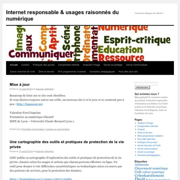 Internet responsable & usages raisonnés du numérique