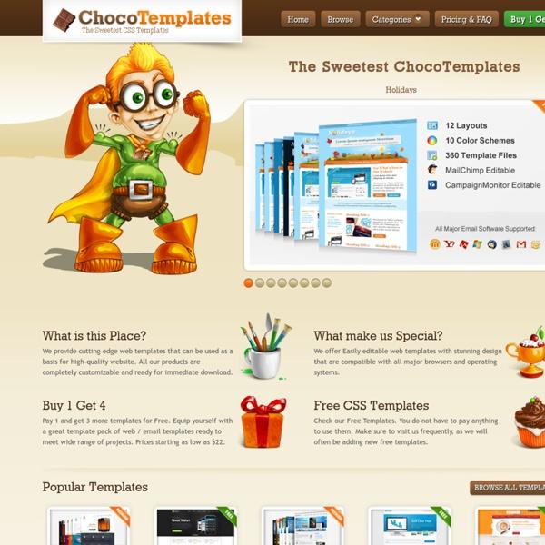 Premium Web Templates, Email Templates, Responsive Templates, Mobile ...