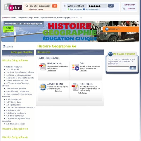 Collection Histoire-Géographie