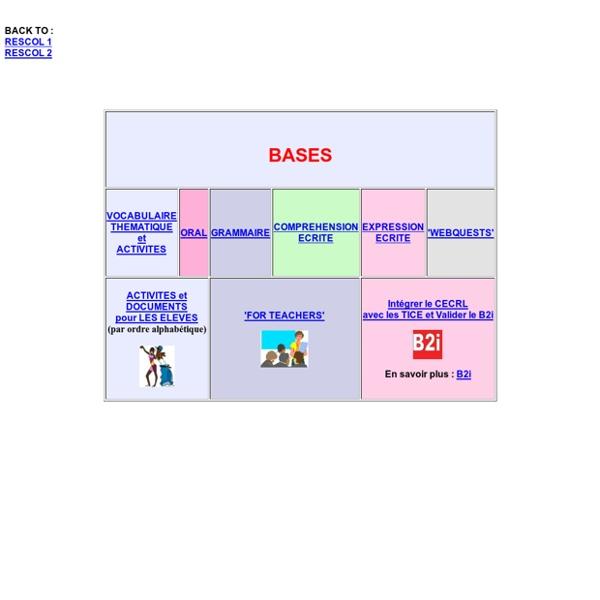 RESCOL 1 - Ressources pour le Collège en anglais