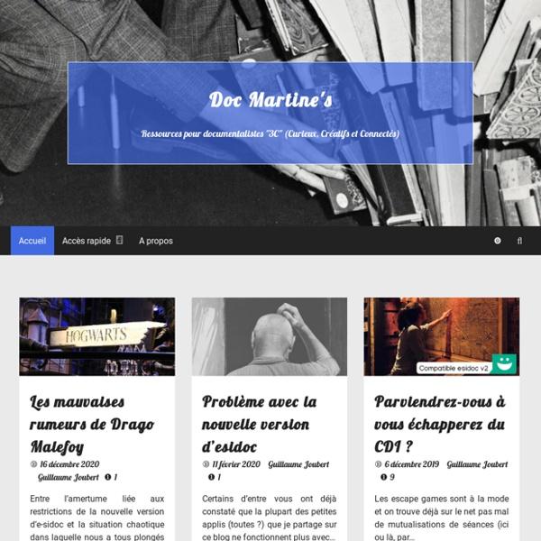 Doc Martine's – Dépoussièrons nos CDI