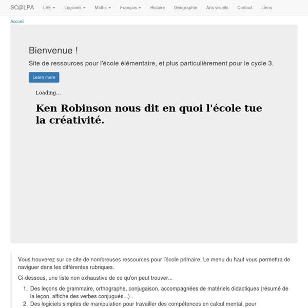 Ressources pour l'école primaire - Exercices de français en ligne