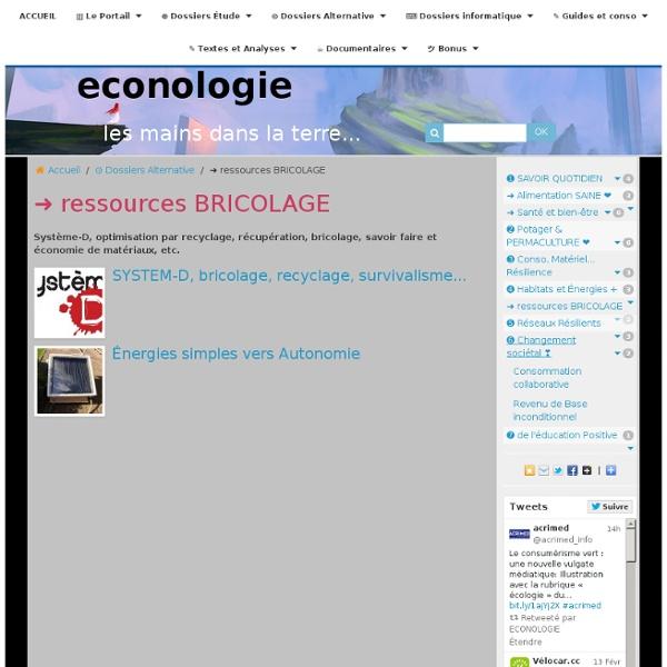 ➜ ressources BRICOLAGE