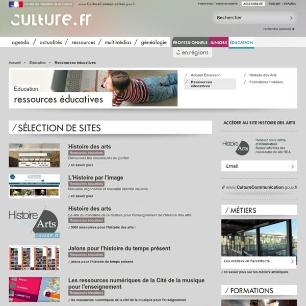 Ressources éducatives / Éducation
