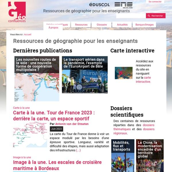 Ressources de géographie pour les enseignants