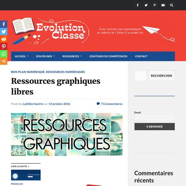 Ressources graphiques libres – Evolution Classe