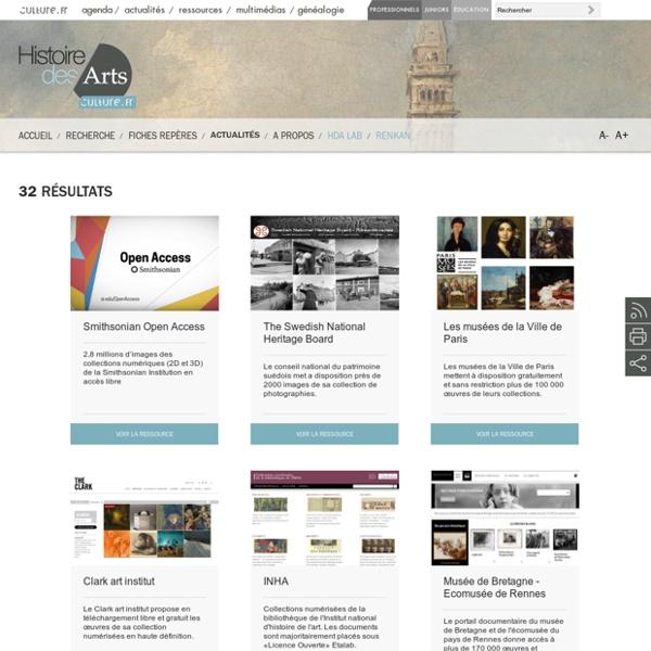 Ressources histoiredesarts