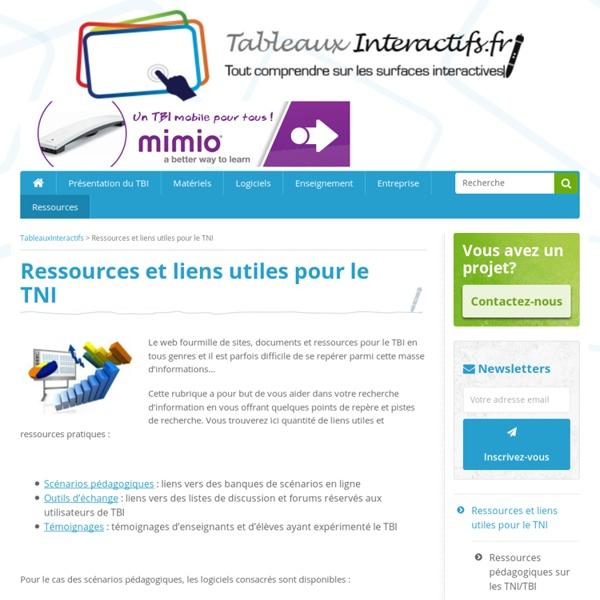 Ressources et liens utiles pour le TBI