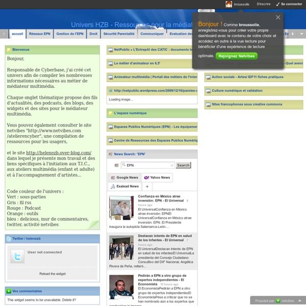 Univers HZB - Ressources pour la médiation multimédia