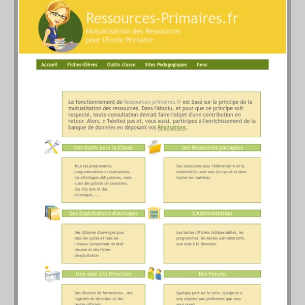 Ressources-primaires Mutualisation des ressources