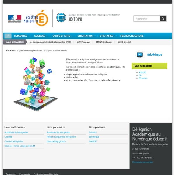 Banque de ressources numériques pour l'éducation