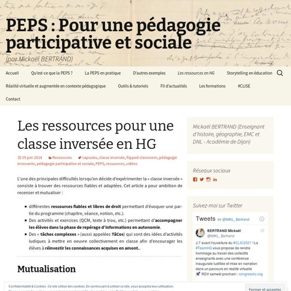 PEPS : Pour une pédagogie participative et sociale