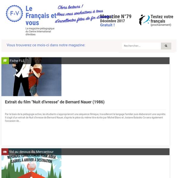 apprendre le francais en ligne