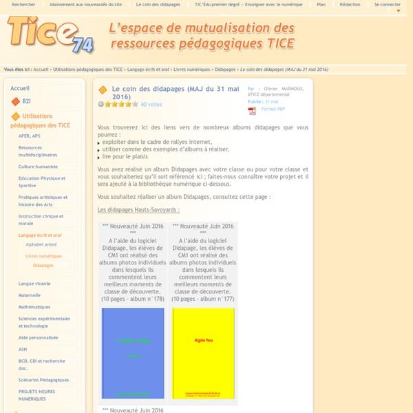 Tice 74 - Le coin des didapages