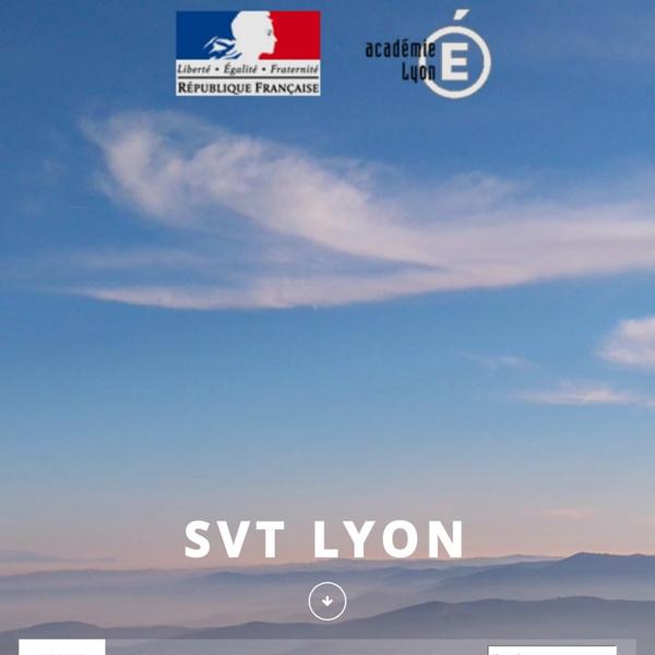 Ressources pédagogiques - SVT Lyon
