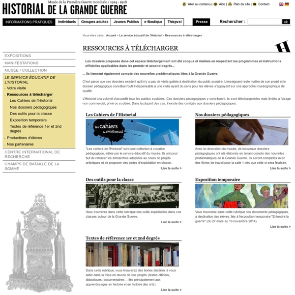 Ressources, Historial, Peronne