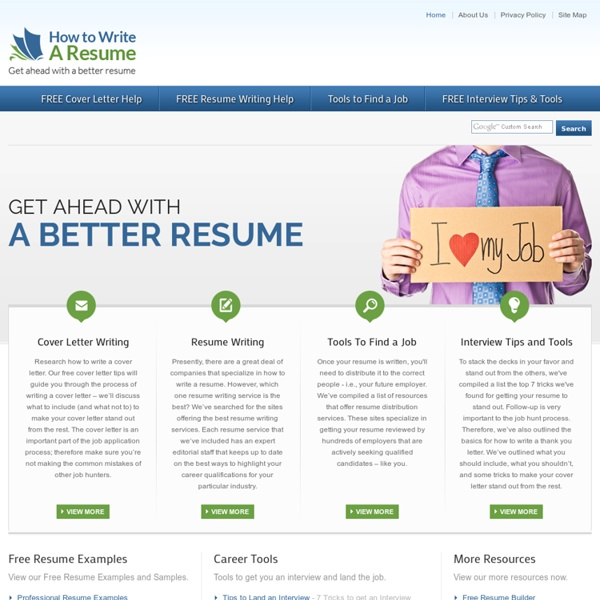 web resumes free resume samples cover letter samples and tips how write resume sample how write