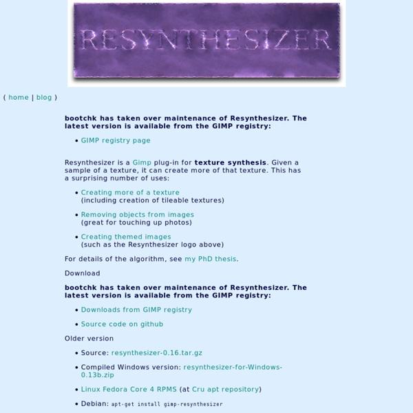 Resynthesizer