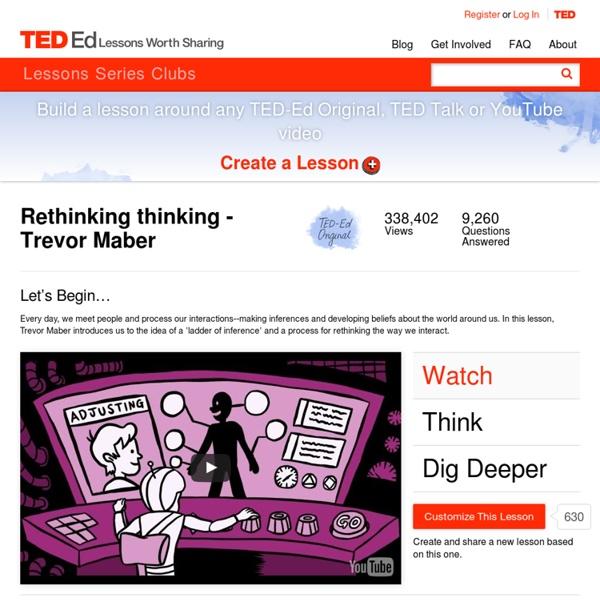 Rethinking thinking - Trevor Maber