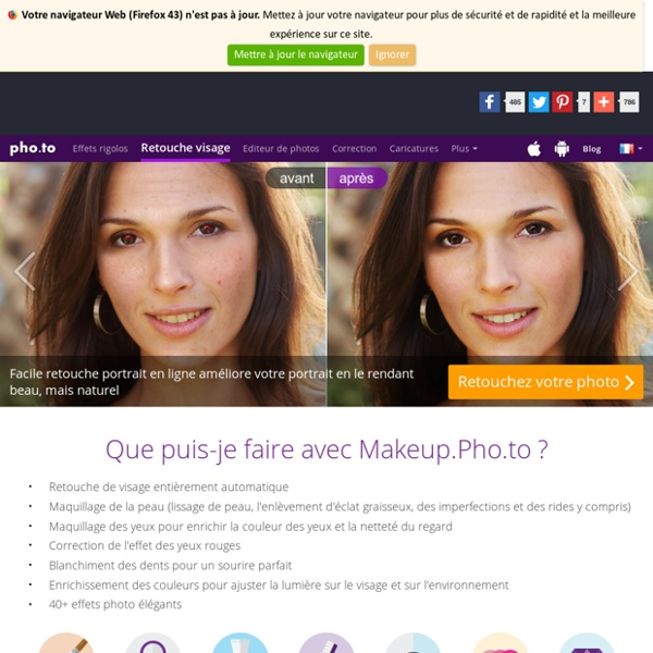 Retouche des portraits photo gratuite