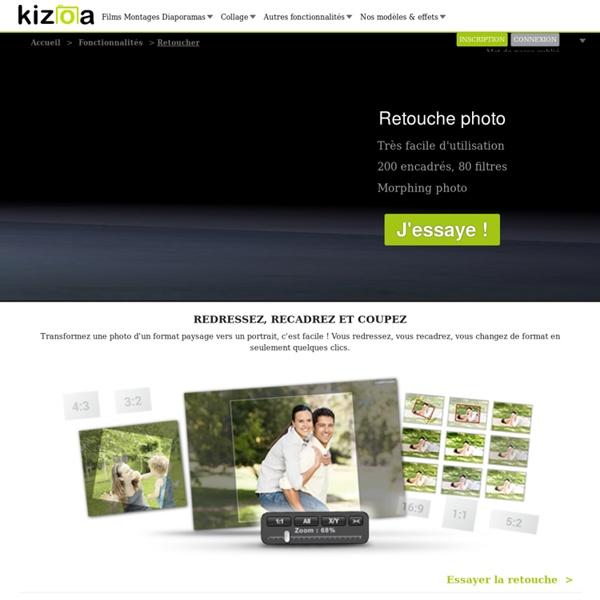 Kizoa retouche gratuit