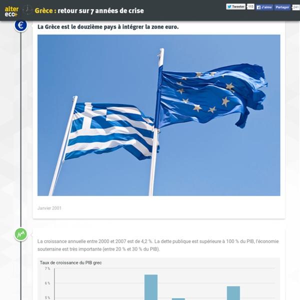 Grèce : retour sur 7 années de crise