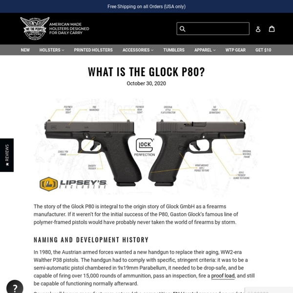 Retro Glock P80?