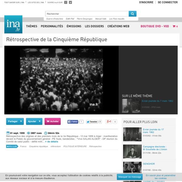 Rétrospective de la Cinquième République