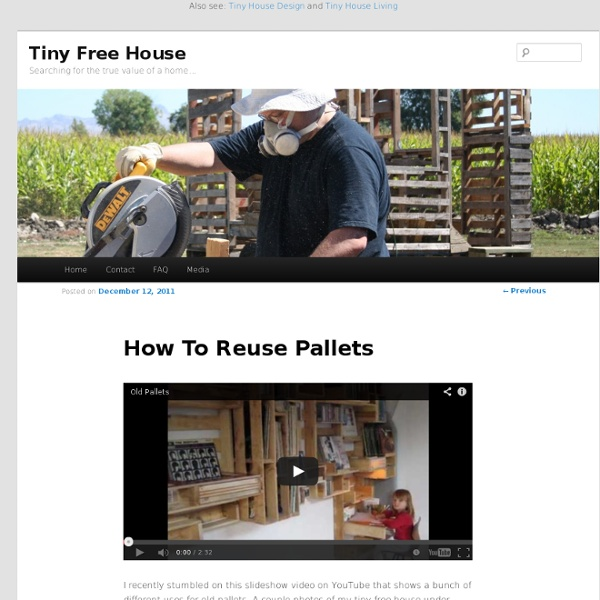 How To Reuse Pallets
