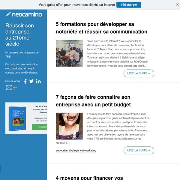 Réussir son entreprise au 21ème siècle par Neocamino Neocamino