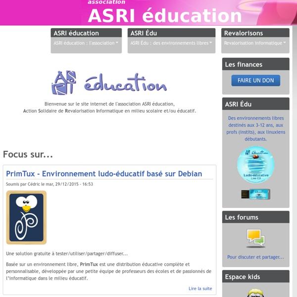 Environnement libre ASRI Édu.