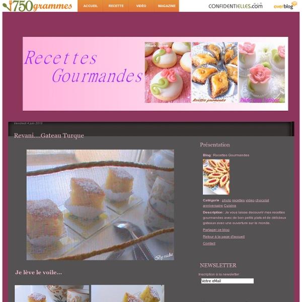 Revani....Gateau turque - Recettes Gourmandes