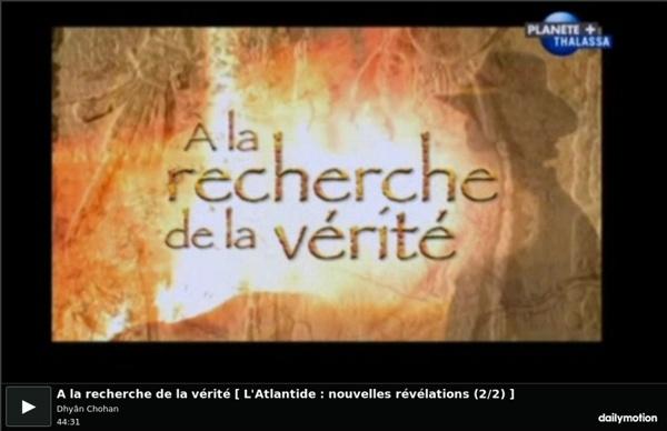 44'32 L'Atlantide : nouvelles révélations - Emiss° A la recherche de la vérité