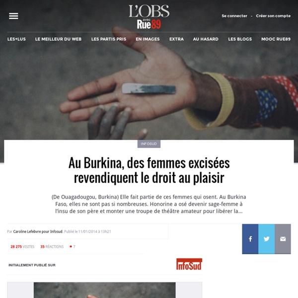 Au Burkina, des femmes excisées revendiquent le droit au plaisir