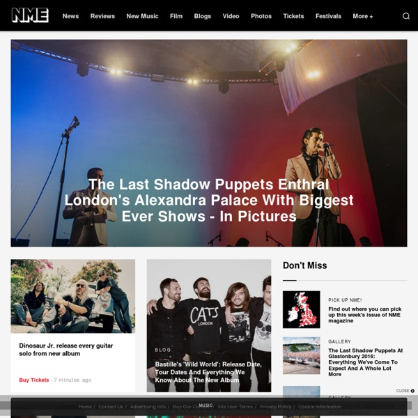 NME Music News, Reviews, Videos, Galleries, Tickets and Blogs