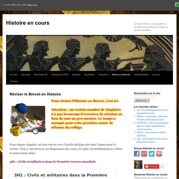 Réviser le Brevet en Histoire