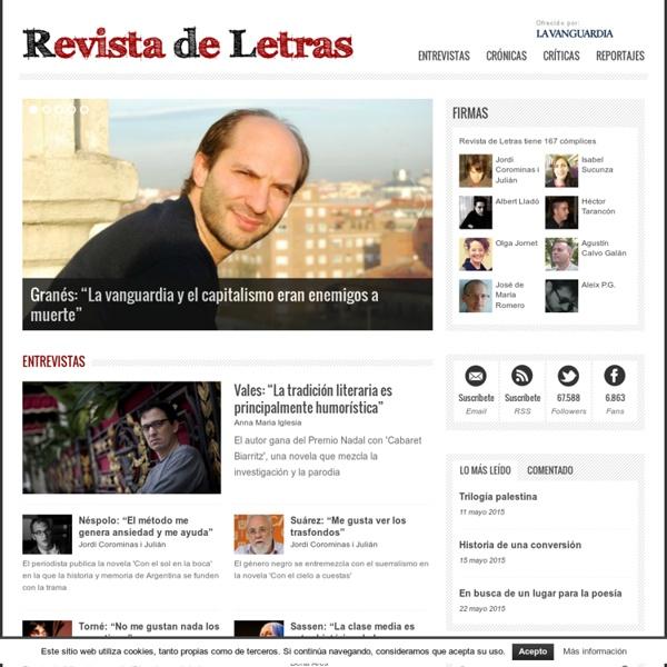 Revista de Letras