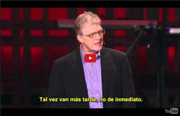 Sir Ken Robinson: ¡A iniciar la revolución del aprendizaje! (subtitulos español)