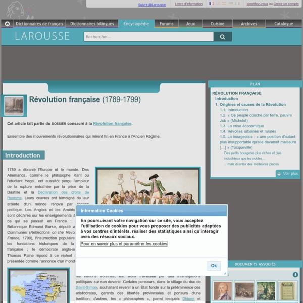 Révolution française 1789-1799