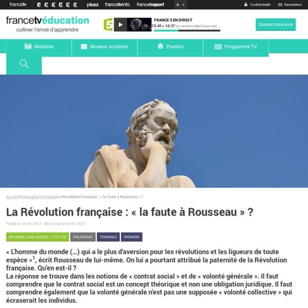 Chronologie - La révolution française