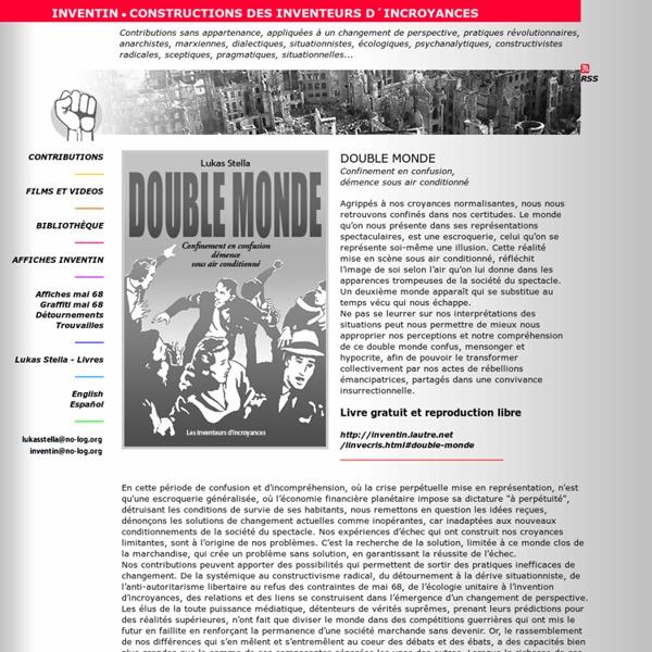 INVENTIN - Contributions des inventeurs d'incroyances, insoumis et révolutionnaires