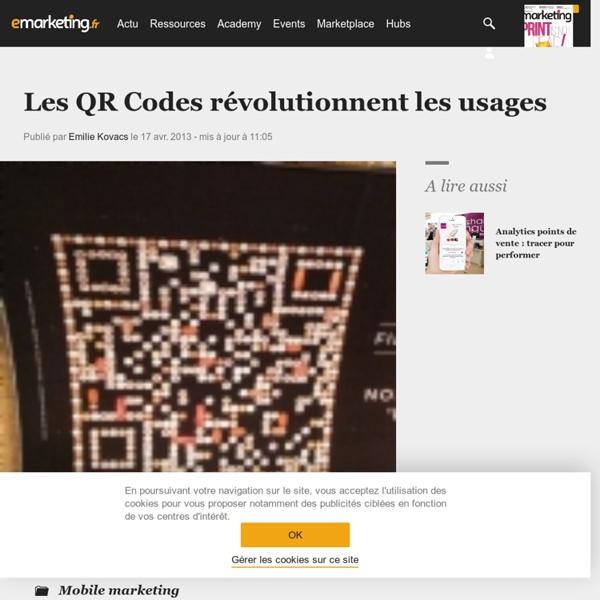 Les QR Codes révolutionnent les usages