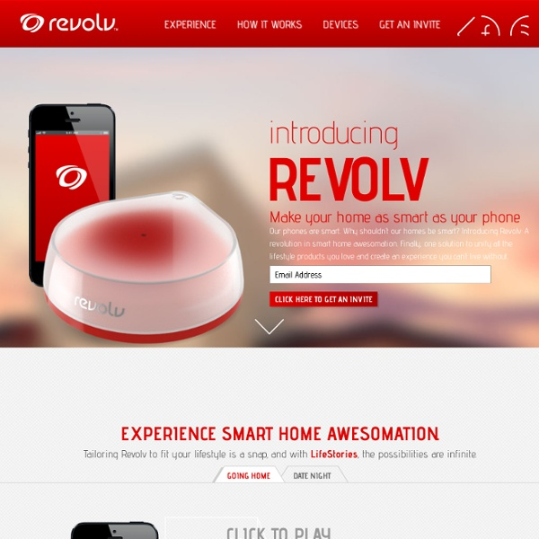 Life & Smart Home Awesomation - Revolv